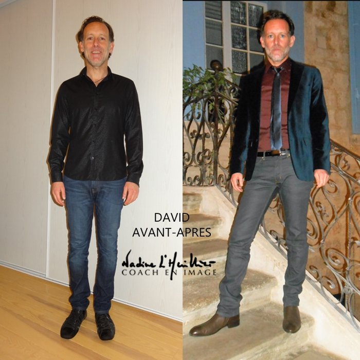 DAVID RELOOKING HOMME MONTPELLIER  AVEC NADINE L HUILLIER