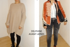 RELOOKING COMPLET FEMME QUARANTAINE MONTPELLIER  AVEC NADINE L HUILLIER
