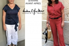 RELOOKING FEMME 40 ANS MONTPELLIER  AVEC NADINE L HUILLIER
